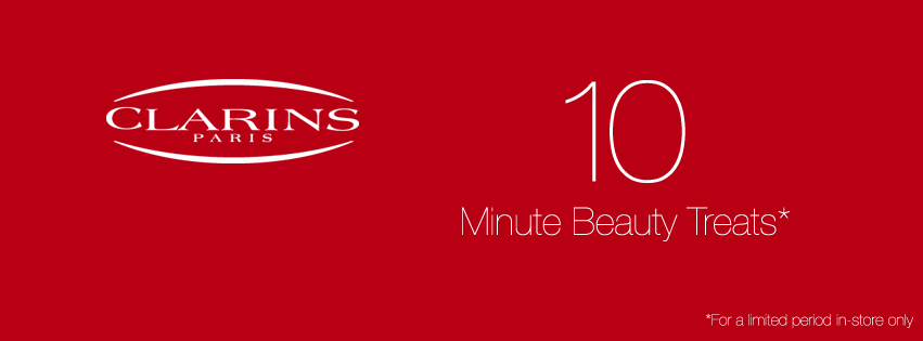 Clarins 10 minute Beauty Treats