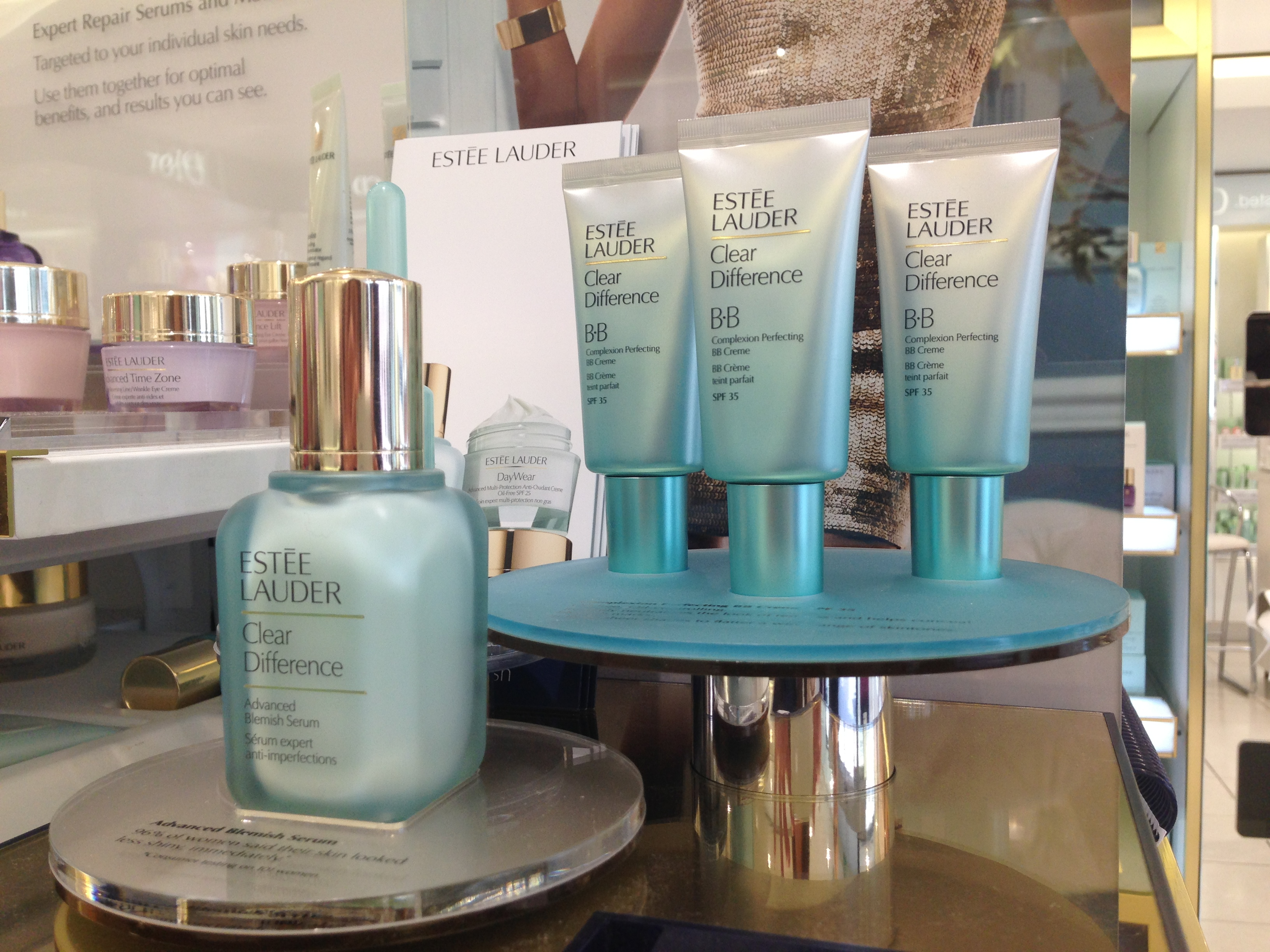 Guest blogger Fran reviews Estee Lauder's Clear Difference range