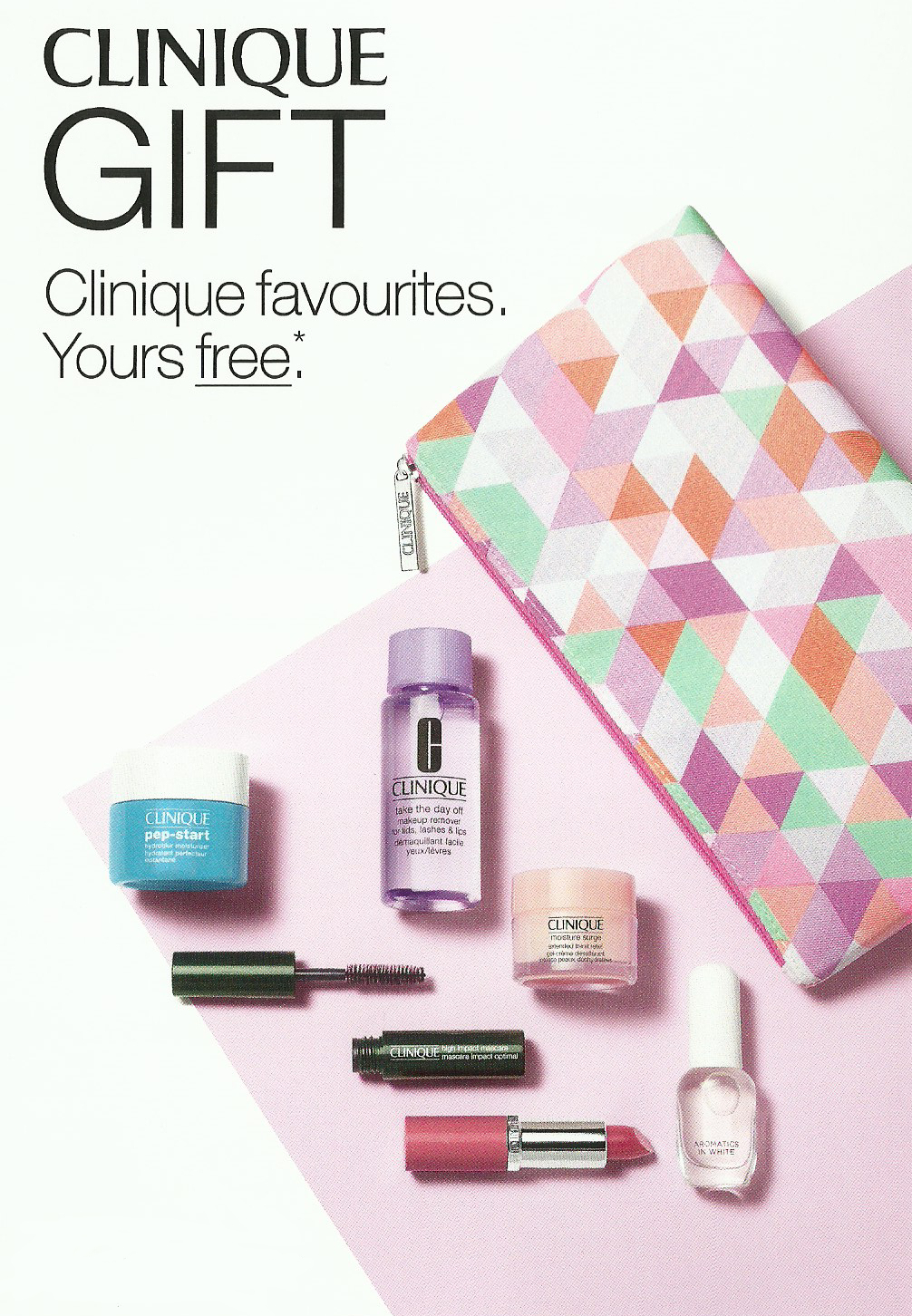 FREE Clinique Favourites Available In Store Now