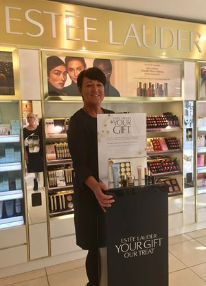The FREE Estee Lauder Gift is on counter 22nd August-7th September
